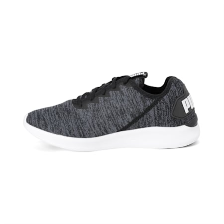 Ballast Men's Running Shoes, Black-Iron Gate-Puma White, small-IND