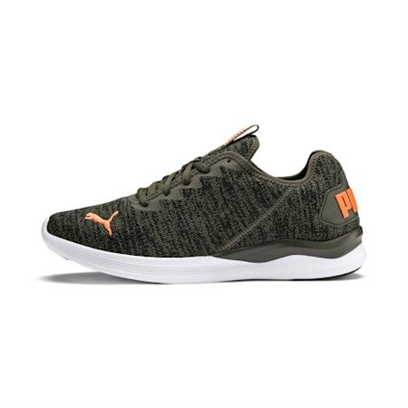 Ballast Men's Running Shoes, Forest Night-Black-Orange, small-IND