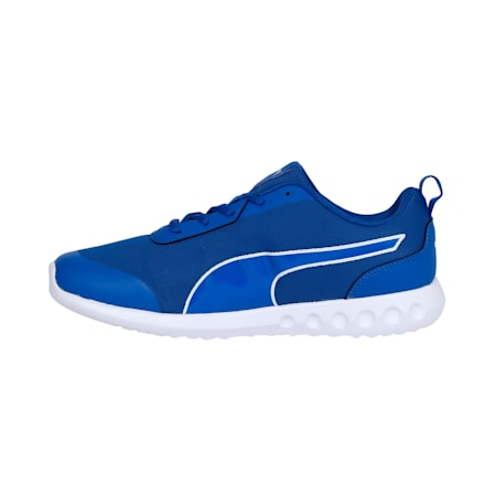 HappyFeetv2 IDP Men's Running Shoes, Royal Blue-Puma White, small-IND