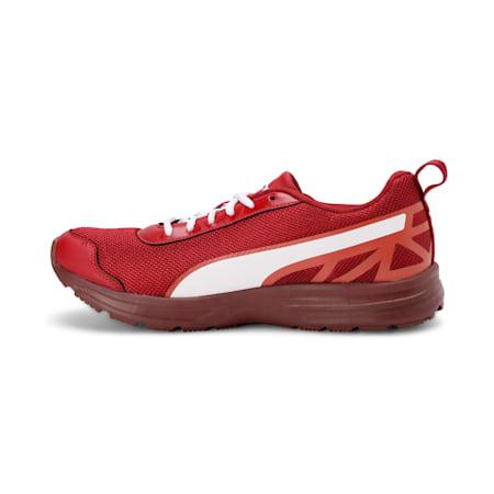 Free Feet 2 Men's Running Shoes, Rd Dahlia-Bossa Nva-Puma Wht, small-IND