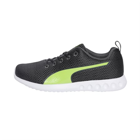 Cario IDP Running Shoes, Iron Gate-Limepunch, small-IND