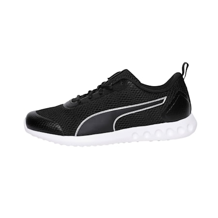 Cruxston IDP Running Shoes, Puma Black-Silver, small-IND