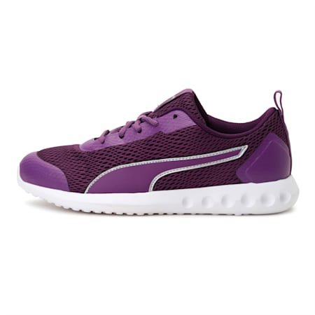 Cruxston IDP Women's Running Shoes, Majesty-Silver, small-IND