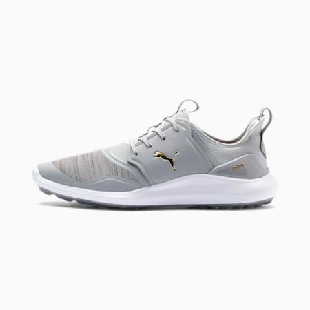 IGNITE NXT Lace-golfsko til mænd, High Rise-Gold-White, small