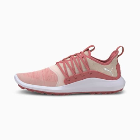 IGNITE NXT SOLELACE Women's Golf Trainers, Rapture Rose-Silver, small
