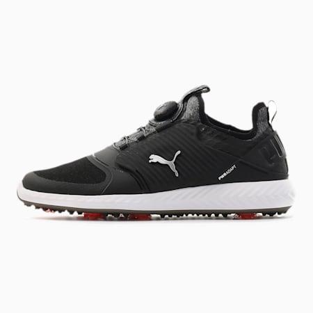 Caged IGNITE PROADAPT golfschoenen voor heren, Black-Puma Silver-Black, small