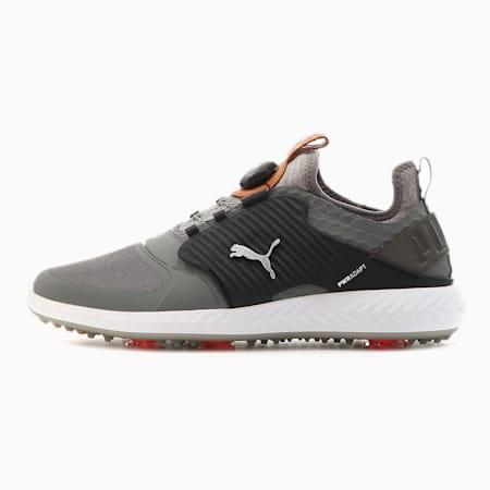 Obszyte męskie buty golfowe Caged IGNITE PROADAPT, QUIET SHADE-Bronze-Black, small