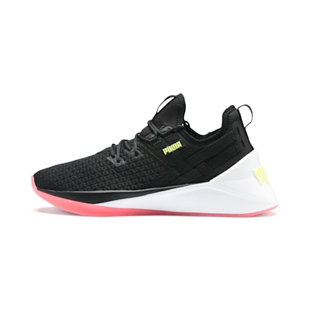 Jaab XT Women's Training Trainers, Puma Black-Puma White, small