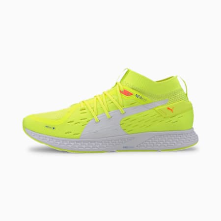 SPEED 500 Men's Running Shoes, Yellow-Palace Blue-White, small