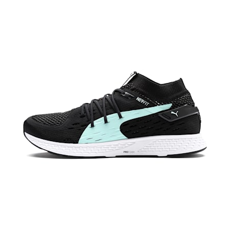 Speed 500 Women's Running Shoes, Puma Black-Puma White, small-SEA
