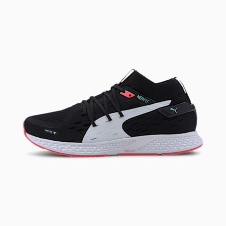 Zapatos para correrSPEED500 para mujer, Black-Pink Alert-White, pequeño