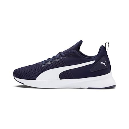 Flyer Runner SoftFoam+ Unisex Running Shoes, Peacoat-Puma White, small-IND