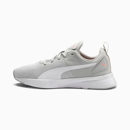 Flyer Running Shoes, Gray Violet-White-Peach, small