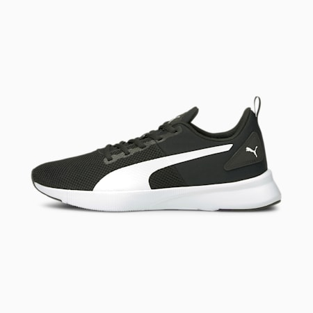 Flyer Running Shoes, Puma Black-Puma White, small-GBR