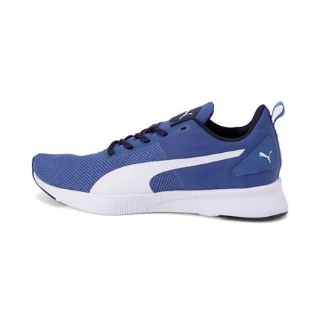 Flyer Running Shoes, Galaxy Blue-Puma White, small-IND