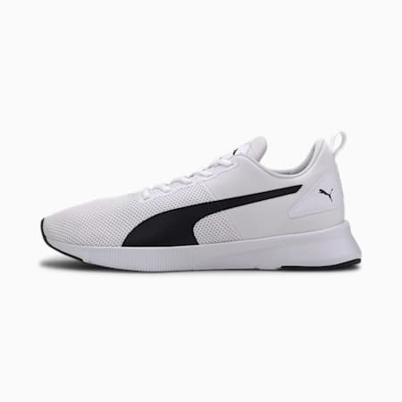 Flyer hardloopschoenen, Puma White-Puma Black, small