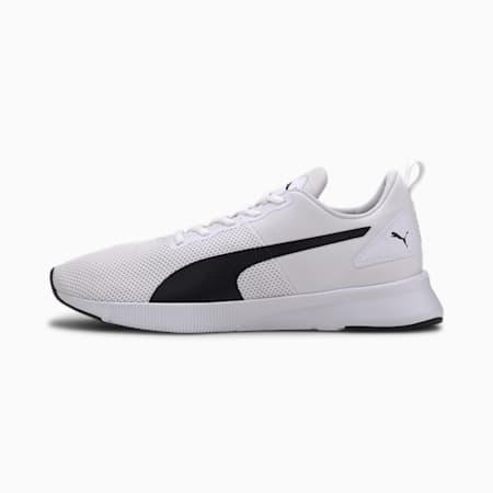 Flyer Runner SoftFoam+ Unisex Running Shoes, Puma White-Puma Black, small-IND
