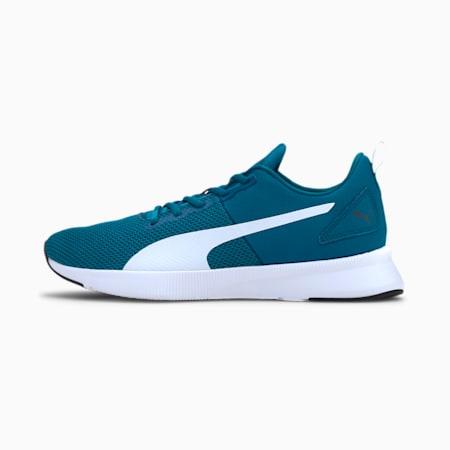 Flyer Running Shoes, Digi-blue-Puma White, small