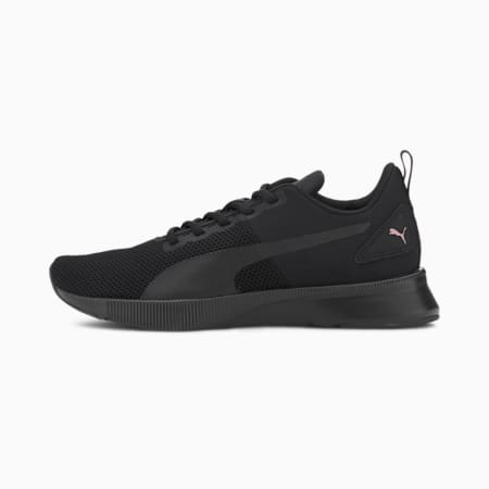 Flyer Running Shoes, Puma Black-Rose Gold, small