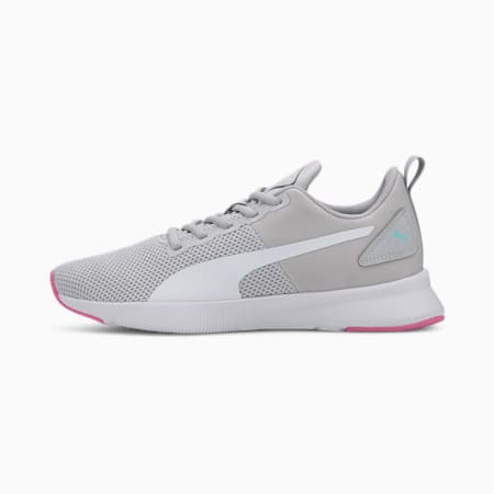Flyer Running Shoes, Gray Violet-Luminous Pink, small-GBR