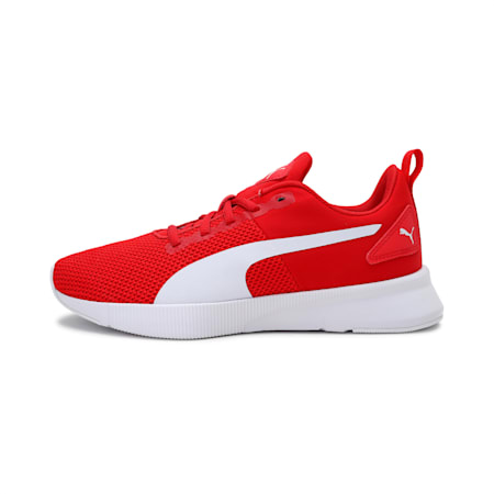 Flyer Runner SoftFoam+ Unisex Running Shoes, High Risk Red-Puma White, small-IND