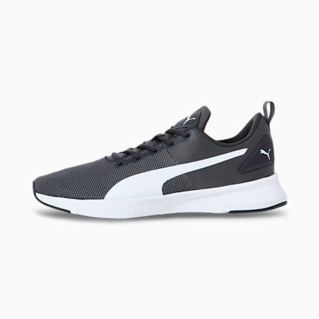 Flyer Running Shoes, Asphalt-Puma White, small-SEA