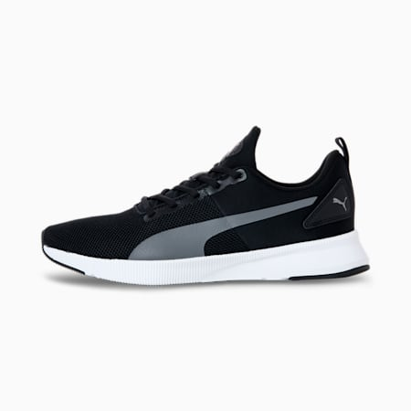 Flyer Running Shoes, Puma Black-CASTLEROCK, small-SEA