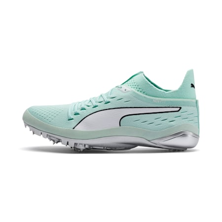evoSPEED NETFIT Sprint 2 Track Spikes, Fair Aqua-Puma White, small