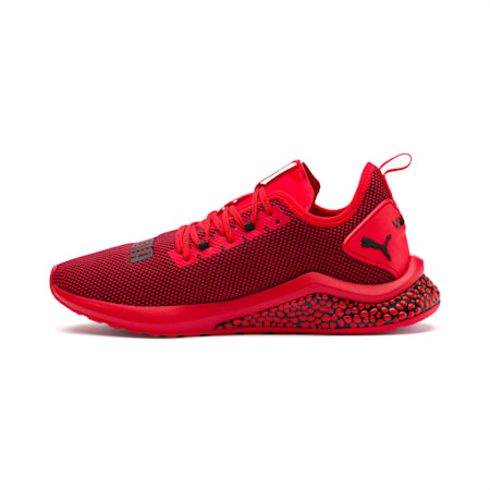 Chaussure de course HYBRID NX pour homme, High Risk Red-Puma Black, small