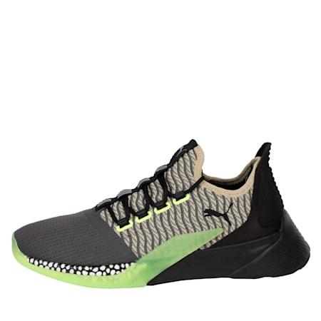 Xcelerator Daylight Running Shoes, Asphalt-Black-Elm-Yellow, small-IND