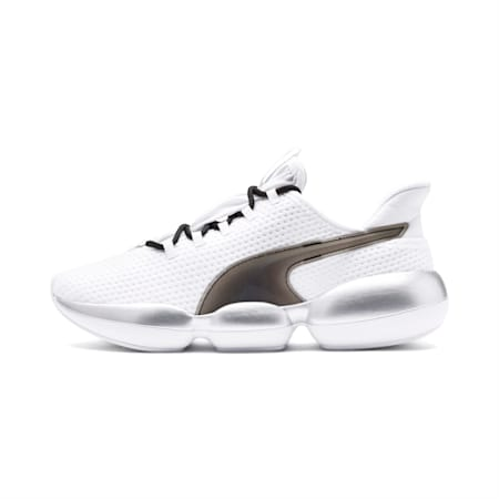 Mode XT Women's Training Shoes, Puma White-Puma Silver, small