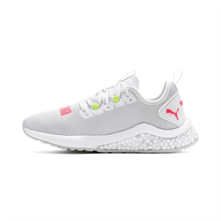 HYBRID NX Women's Running Shoes, Puma White-Pink Alert, small
