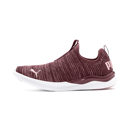 IGNITE Flash Slip Women's Walking Shoes, Vineyard Wine-Bridal Rose, small-IND