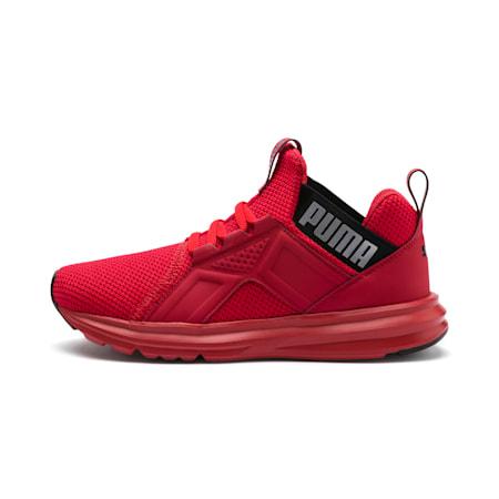 Chaussure de course Enzo Weave pour enfant, High Risk Red-Puma Black, small