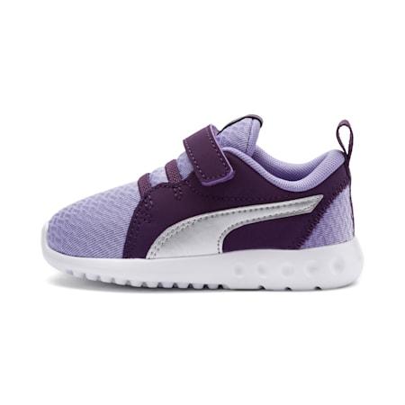 Carson 2 Metallic Toddler Shoes, Sweet Lavender-Indigo, small