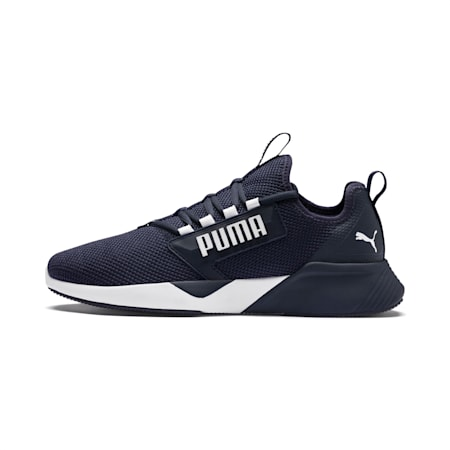 Retaliate Men's Training SoftFoam Shoes, Peacoat-Puma White, small-IND