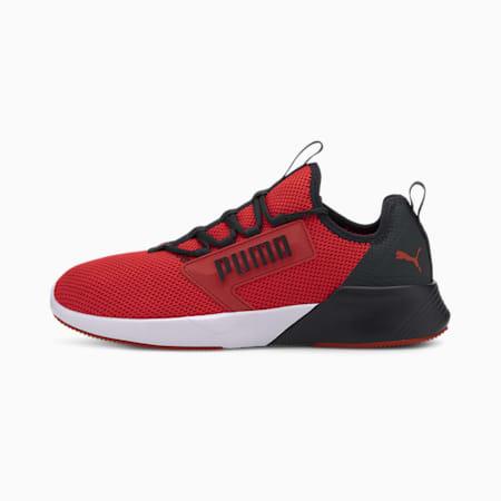 Retaliate Men's Training SoftFoam Shoes, High Risk Red-Puma Black, small-IND