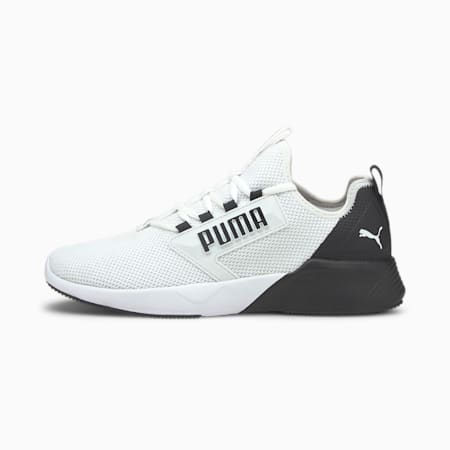 Retaliate Men's Running Shoes, Puma White-Puma Black, small