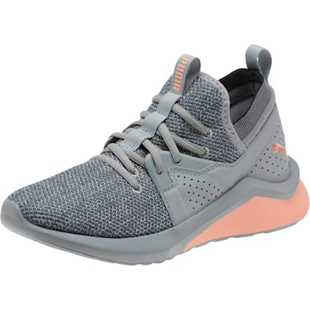 Emergence Women's Sneakers, Quarry-Peach Bud, small