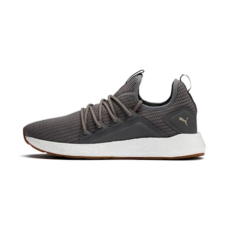 NRGY Neko Future Men's Running Shoes, Charcoal Gray-Taos Taupe, small-IND