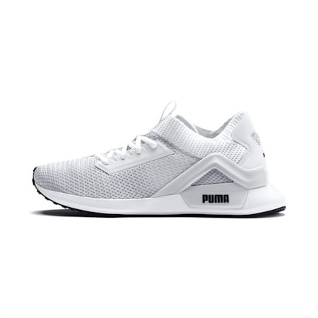 Rogue Men's Running Shoes, Puma White-Puma Black, small-IND