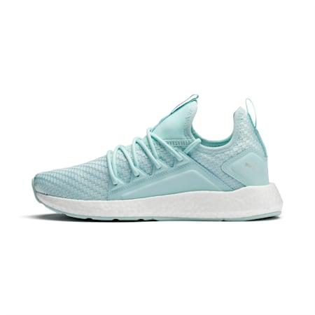 NRGY Neko Cosmic Women's Running Shoes, Fair Aqua-Puma White, small-IND