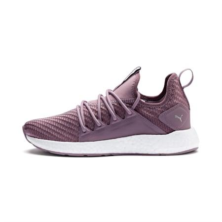NRGY Neko Cosmic Women's Running Shoes, Elderberry-Puma White, small-IND