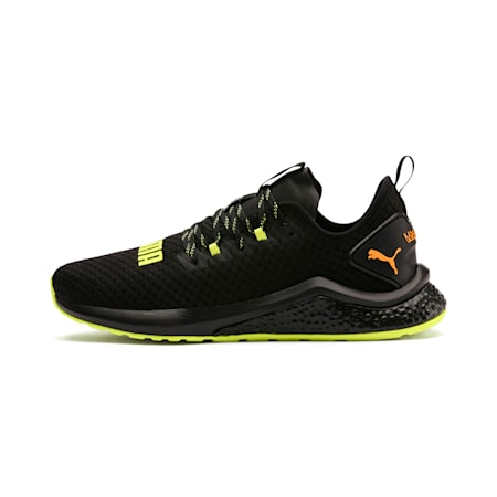 HYBRID NX Daylight Men's Trainers, Black-FizzyYellow-OrangePop, small-SEA
