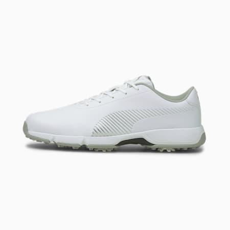 Drive Fusion Tech Men's Golf Shoes, Puma White-Puma Silver, small-SEA