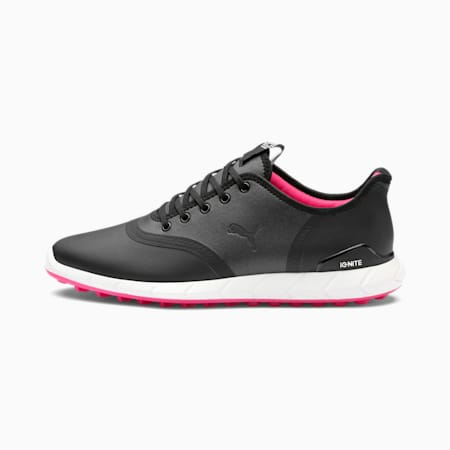 IGNITE Statement Low Women's Golf Shoes, Black-Black, small