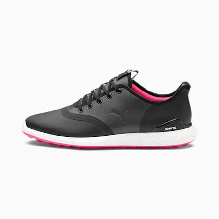 Niskie buty damskie do golfa IGNITE Statement, Black-Black, small