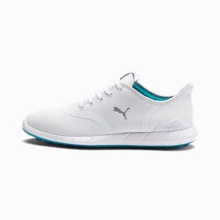 Niskie buty damskie do golfa IGNITE Statement, White-Quarry, small