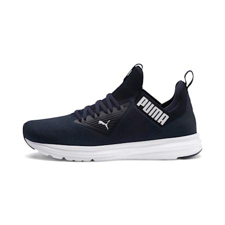 Enzo Beta Men's SoftFoam+ Running Shoes, Peacoat-Puma White, small-IND