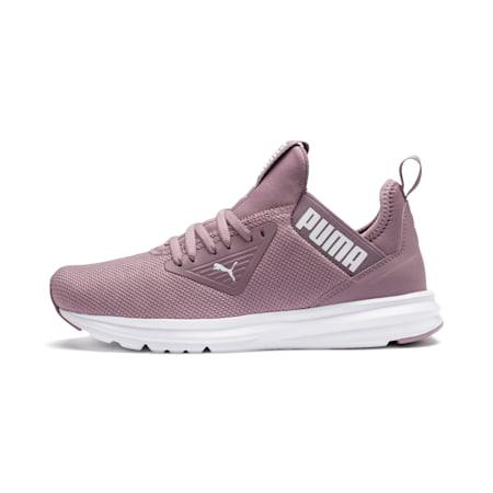 Enzo Beta Women's SoftFoam Training Shoes, Elderberry-Puma White, small-IND